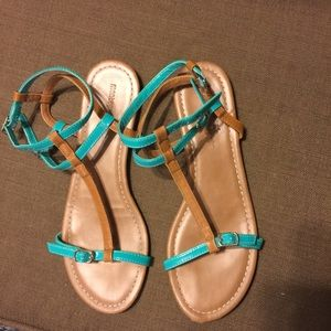 Montego Bay Club Sandals Sz 10